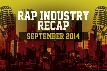 Rap Industry Recap: September