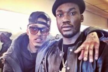 Meek Mill Calls August Alsina From Jail