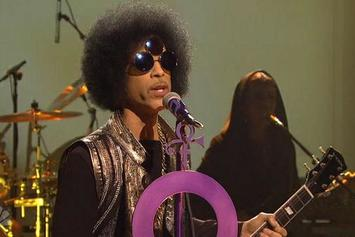 Prince Performs On SNL