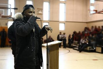 Jeezy Speaks At Juvenile Detention Center In Detroit