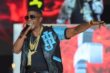 "Lil Boosie Reveals New Cover Art For ""Touchdown 2 Cause Hell"""