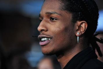 A$AP Rocky Recalls Crying Tears Of Joy After His First Show