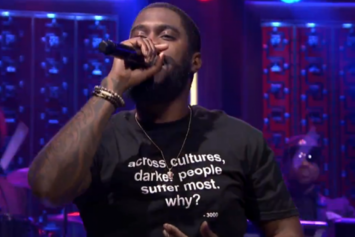 "Big K.R.I.T. Performs ""Soul Food"" On The Tonight Show"