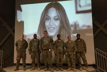Beyonce & Jay Z Send U.S. Troops Special Message On New Year's Eve