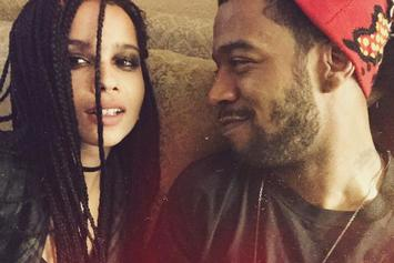 Filming For Kid Cudi's New Movie With Zoe Kravitz Is Complete