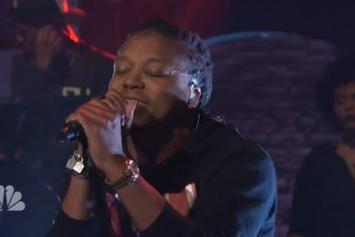 "Lupe Fiasco Performs ""Deliver"" On Late Night With Seth Meyers"