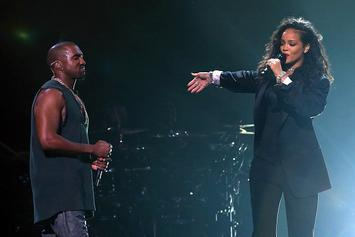Kanye West Is Executive-Producing Rihanna's Upcoming Album