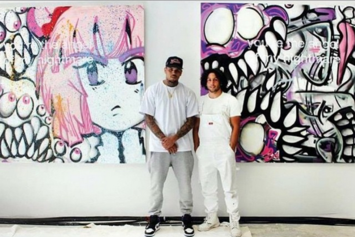 Chris Brown's Art Brings In Over $60,000 At Miami Auction