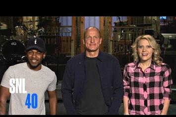 "Kendrick Lamar ""SNL Promos"" Video"