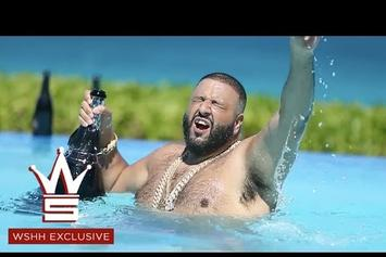"DJ Khaled Celebrates ""Hold You Down"" Going #1 By Partying In The Bahamas"