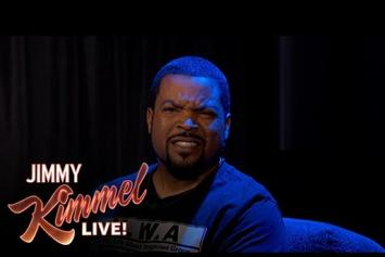 """Ice Cube Says Nice Things Angrily On """"Jimmy Kimmel Live"""""""