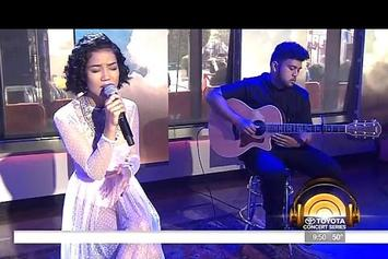 "Jhene Aiko Performs ""The Pressure"" On The Today Show"