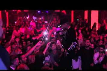 "Kid Ink Debuts ""Body Language"" Live In Paris"