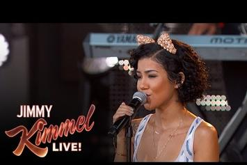 "Jhene Aiko Performs ""The Pressure"" Live On Jimmy Kimmel"