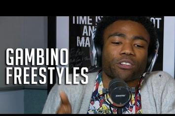 Childish Gambino Freestyles On Hot 97