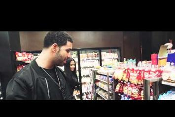 "Nicki Minaj And Drake On The Set Of Usher's ""She Came to Give It to You"" Video"
