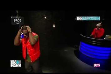 """Young Dro Freestyles On BET's """"The Backroom"""""""