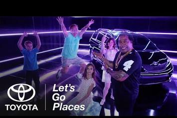 Busta Rhymes Appears In Toyota Sienna Commercial