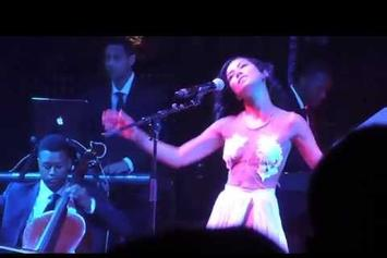 "Jhene Aiko Debuts New Song ""Spotless Mind"" At Coachella"
