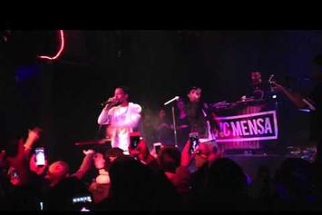 "Vic Mensa Brings Out Rockie Fresh To Perform ""Time Is Money"""