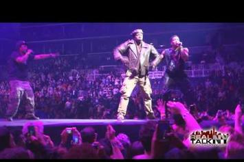 "A Tribe Called Quest Perform ""Scenario"" With Busta Rhymes On Yeezus Tour"