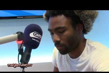 "Childish Gambino ""Tim Westwood Freestyle"" Video"