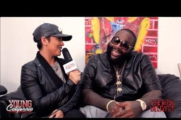 "Rick Ross ""Young California: Rose Delivery Interview"" Video"