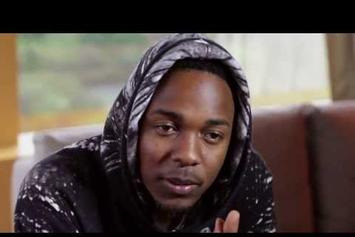 "Kendrick Lamar ""Talks Fashion & Style"" Video"