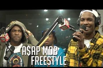 "A$AP Mob ""Funkmaster Flex Freestyle Pt. 2"" Video"