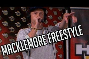 """Macklemore """"Real Late Sessions Freestyle"""" Video"""