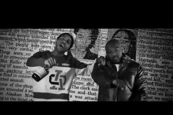 "Te-Money Feat. Verse Simmonds ""Real Eyes"" Video"