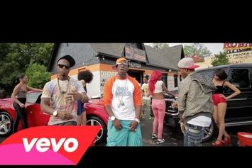 "Young Dro Feat. B.o.B & Young Booke ""Poppin 4 Sum"" Video"