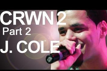 """J. Cole """"Talks """"Born Sinner,"""" Competing With Kanye & Jay-Z"""" Video"""