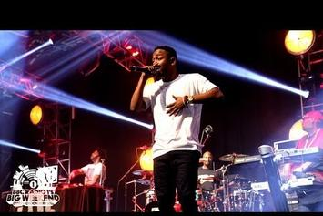 "Kendrick Lamar """"Swimming Pools"" Live @ BBC's Big Weekend"" Video"