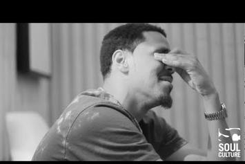 """J. Cole """"Denies There's A Song Titled """"I Disappointed Nas"""" On """"Born Sinner"""""""" Video"""