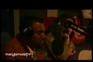 "Kanye West ""2005 Tim Westwood Freestyle "" Video"