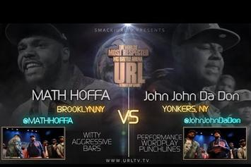 "Math Hoffa Feat. John John Da Don ""Unfinished Business Battle (4/20)"" Video"
