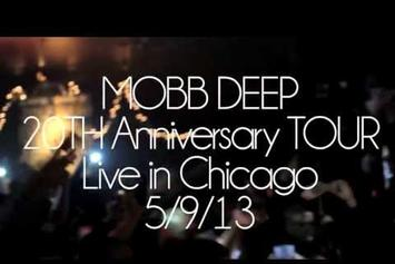 "Mobb Deep ""Perform In Chicago"" Video"