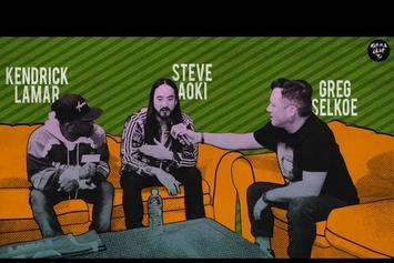 "Kendrick Lamar Feat. Steve Aoki ""Talks Verge Campus Tour, Lonely Island Collabo"" Video"