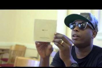 "Talib Kweli ""Goes Through ""Prisoner Of Conscious"" Booklet"" Video"