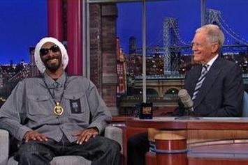 "Snoop Dogg ""Interview On David Letterman"" Video"