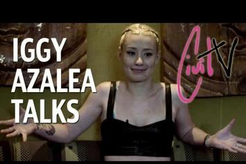 "Iggy Azalea ""Talks Island Def Jam Deal"" Video"