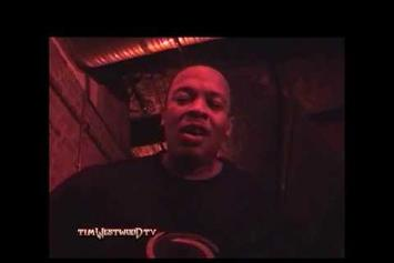 "Eminem Feat. Dr. Dre ""Party In London (Vintage Footage)"" Video"
