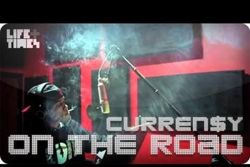 "Curren$y ""On The Road"" Video"