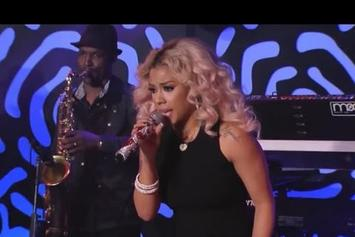 "Keyshia Cole ""Performs ""Trust & Believe"" On Jimmy Kimmel"" Video"