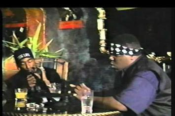 "Notorious B.I.G. Feat. Tupac ""Freestyling With Tupac"" Video"