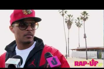 "T.I. ""Talks ""Trouble Man"" Sequel"" Video"