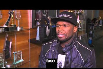 "50 Cent ""Talks New Song With Eminem"" Video"