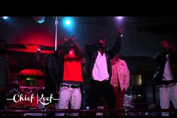 """Chief Keef """"Performs """"Love Sosa"""" at King of Diamonds """" Video"""