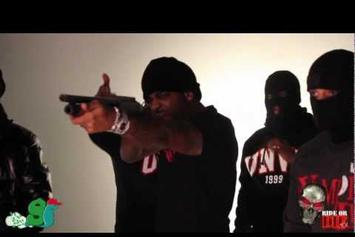 "Jim Jones Feat. Byrdgang ""Behind The Scenes: - Red Rum / Pussy"" Video"